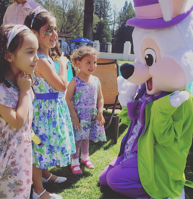 #WynazzPizzazz had so much fun bringing Spring joy to @sequoyahcc today! Thanks so much for having us out on this beautiful day to celebrate. #sfevents #facepainting #easterbunny
