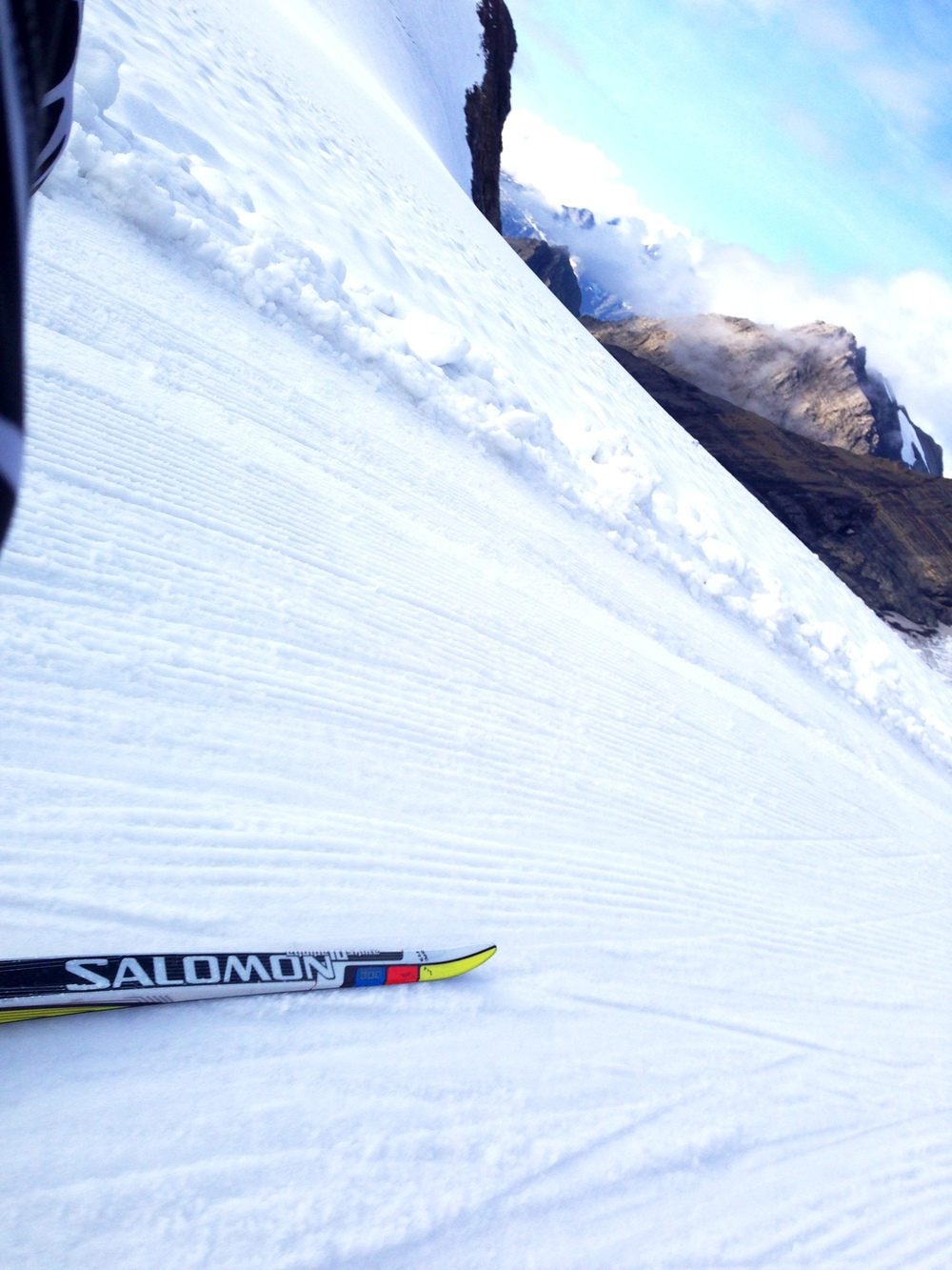 Hard tracks, fast skis, stellar views.