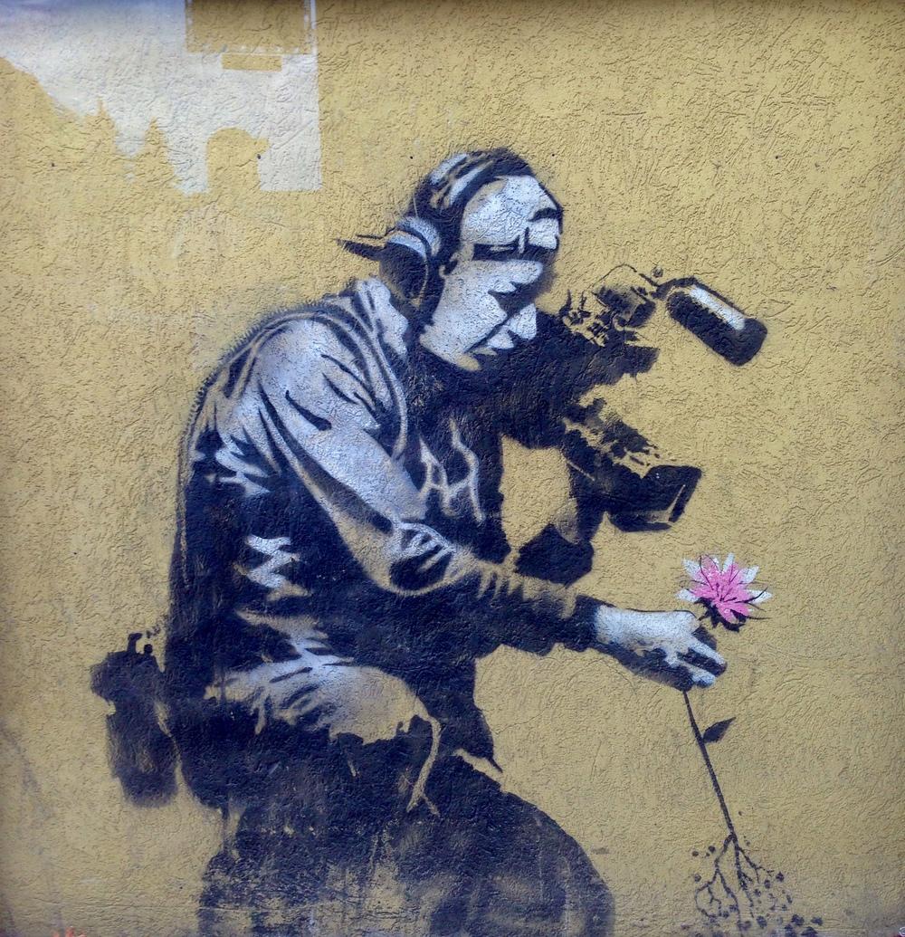 Banksy original.