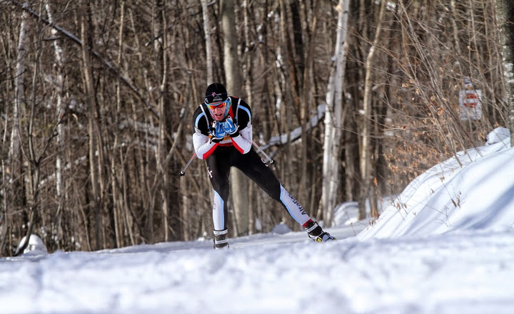 15km Skate Easterns NorAm. Photo Credit: Bernard Pigeon