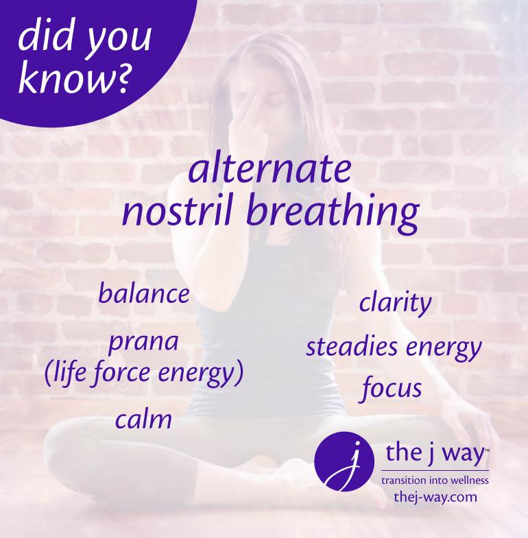 I like to breathe  — the j way