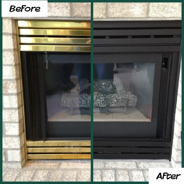 However if your fireplace is dated and dirty here are some quick fix ideas to make your fireplace look its best. & How to Deal with an Ugly Brick Fireplace when Selling your Home ...
