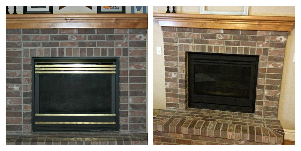 How To Deal With An Ugly Brick Fireplace When Selling Your Home