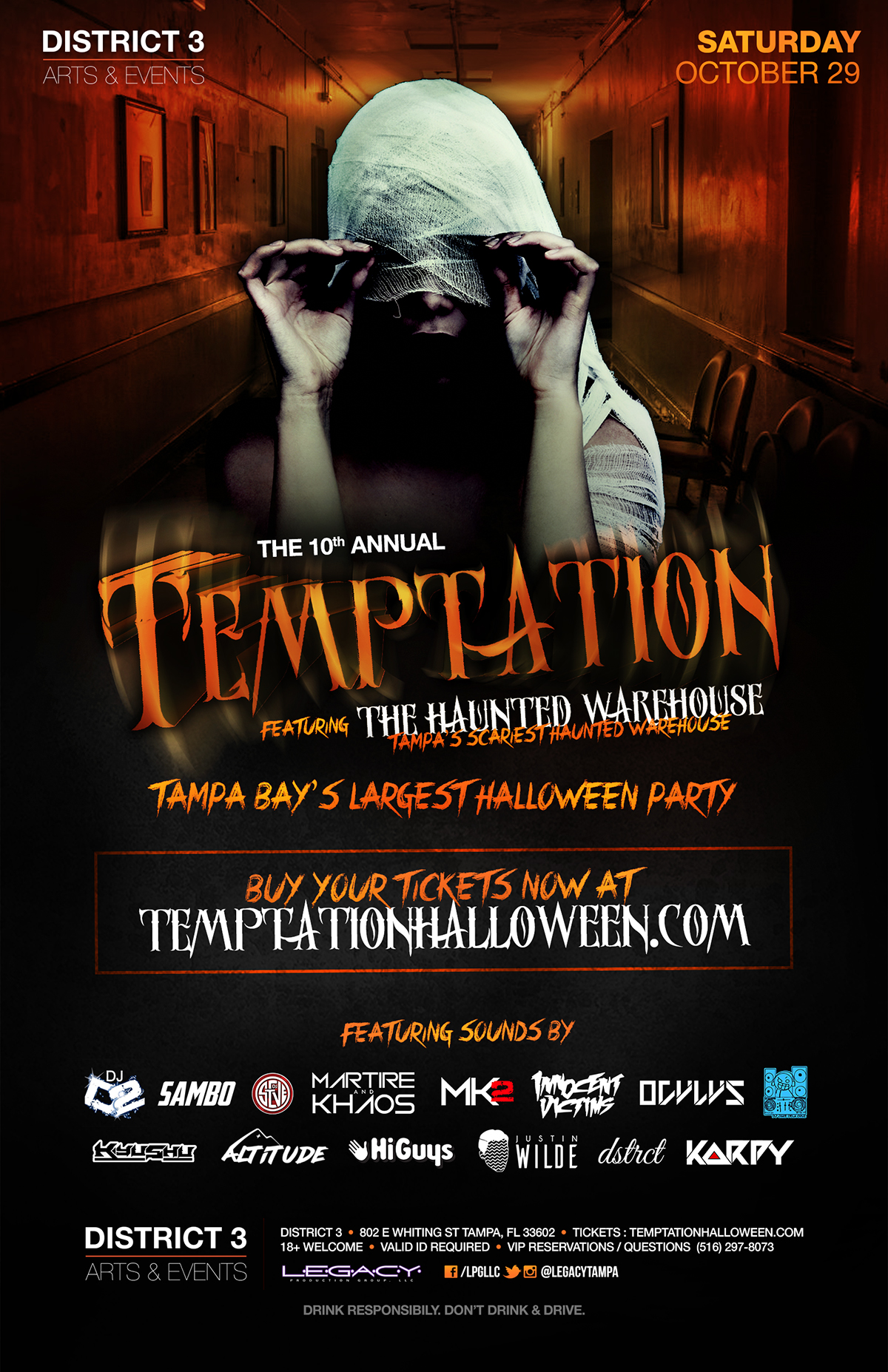view event - Halloween Tampa Fl