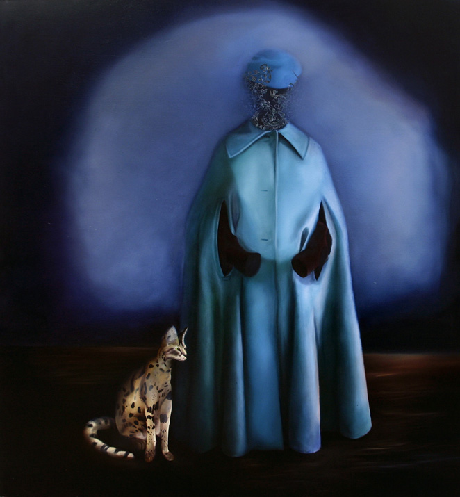 60 x 60 inches, oil on canvas, 2008