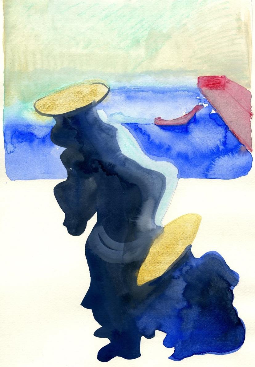 Radiant Wave (After Hiroshige)