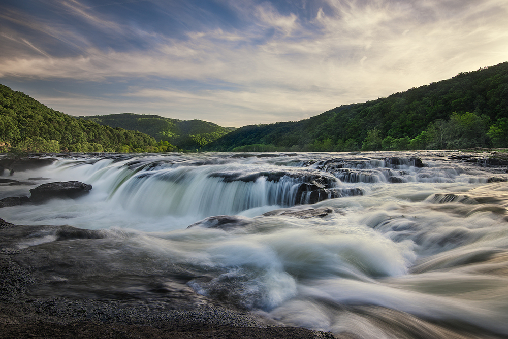 Sandstone Falls, New River Gorge, WV