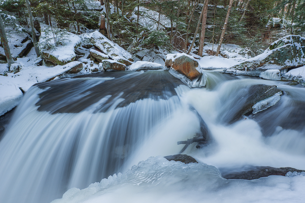 Winter's Flow, Slippery Rock, PA