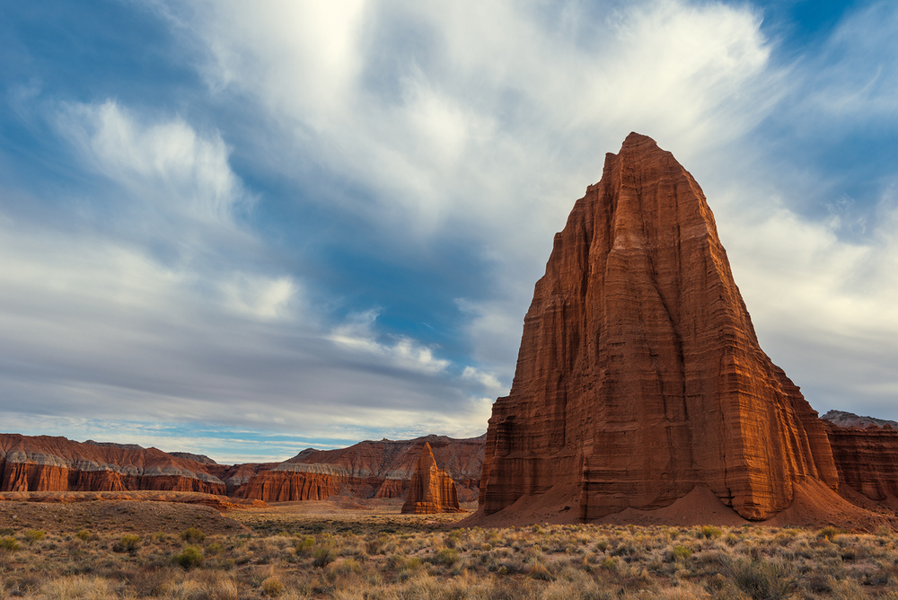Temple of the Sun and Moon, Capitol Reef National Park, Utah