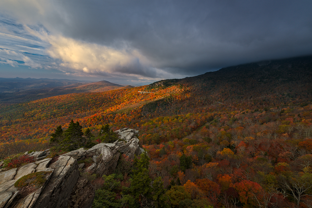 Kalidescope, Blue Ridge Parkway, North Carolina