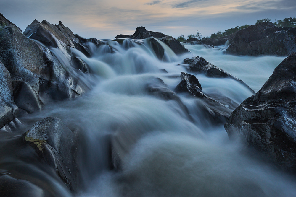 Twilight at Great Falls • Great Falls National Park, Virginia
