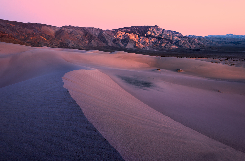 Panamint Dunes Twilight, Death Valley, CA