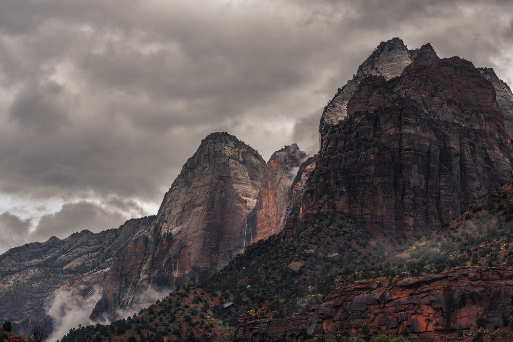 Storm over Zion, Zion National Park, UT.