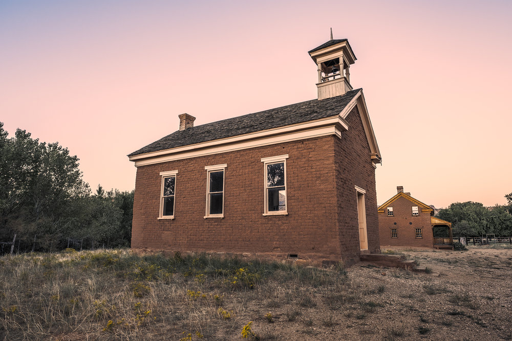 The Old School House, Grafton Ghost Town, Grafton, UT.