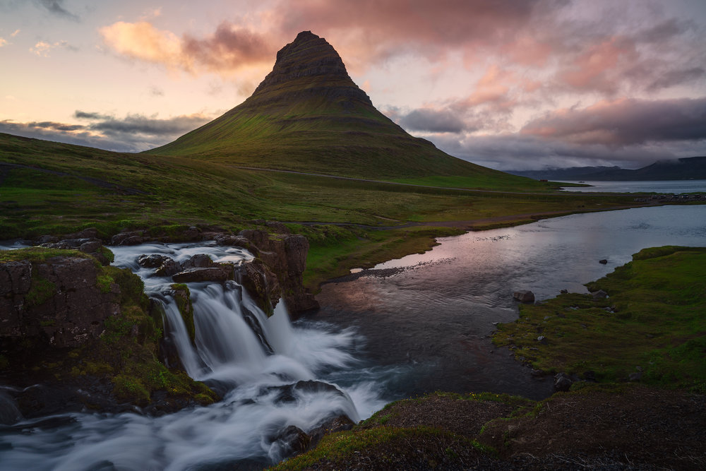 Twilight at Kirkjufell