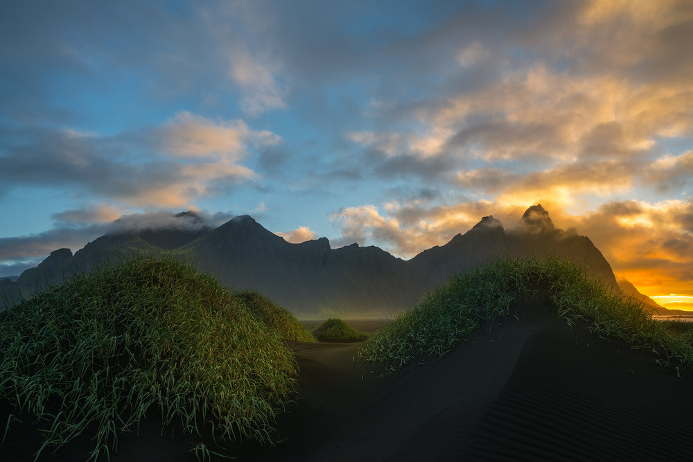 Sunrise at Vestrahorn