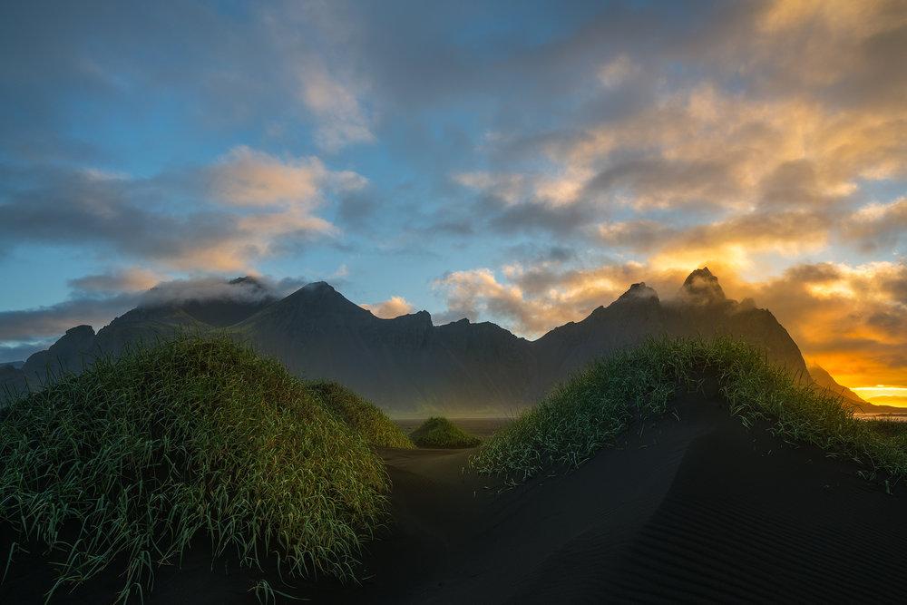 Sunrise at Vestrahorn