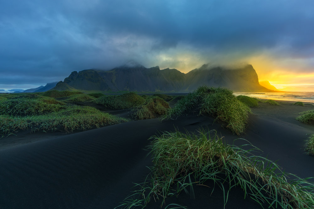 The Glow of Vestrahorn