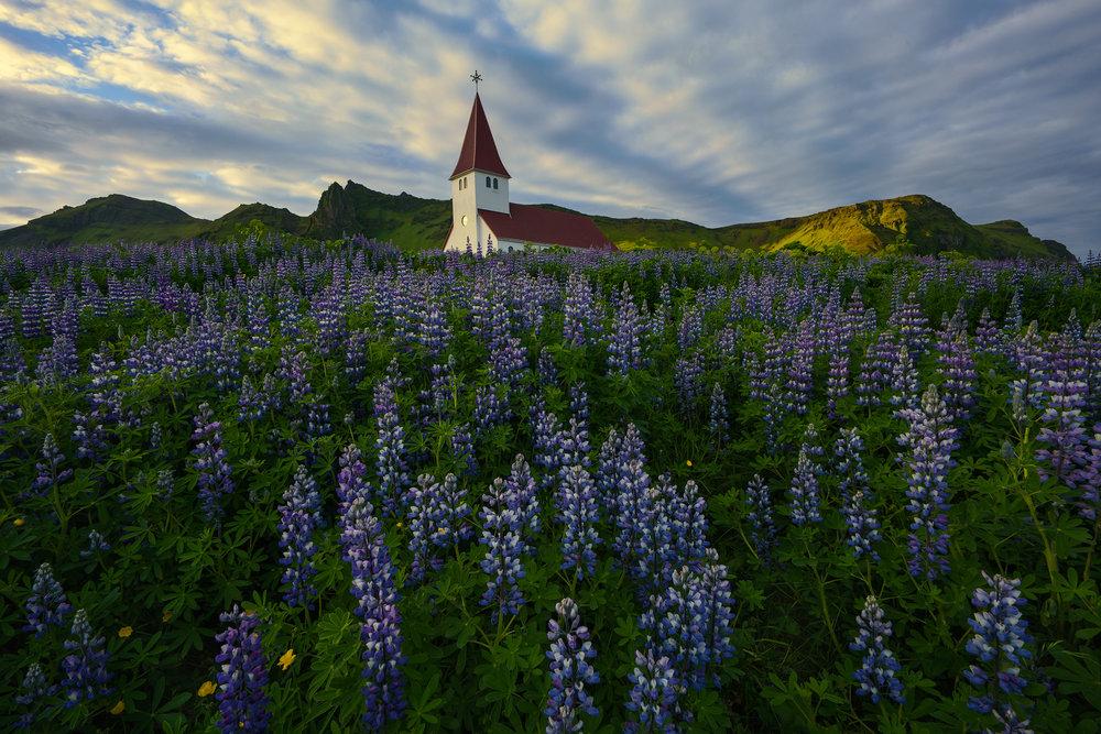 The White Church at Vik