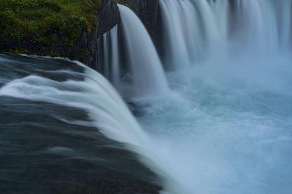 Up Close at Godafoss