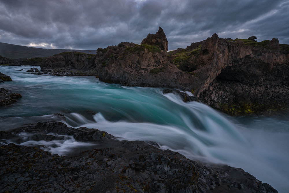 Lower Slot at Godafoss