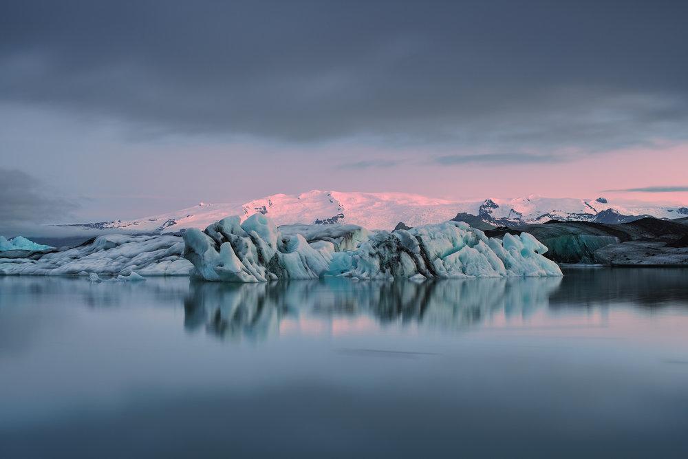 Jolkusarlon Ice Lagoon