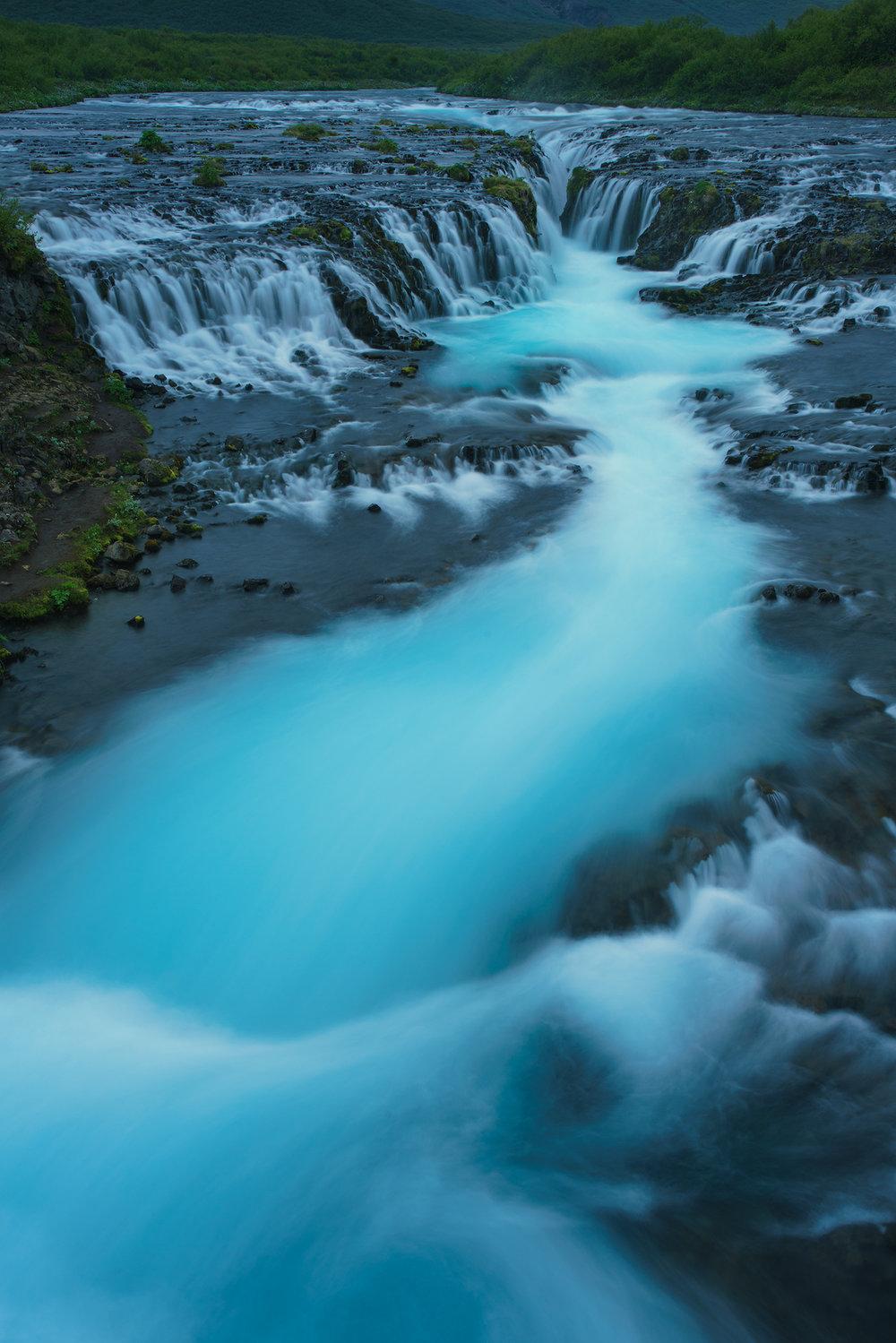 Icy Flow at Brurafoss
