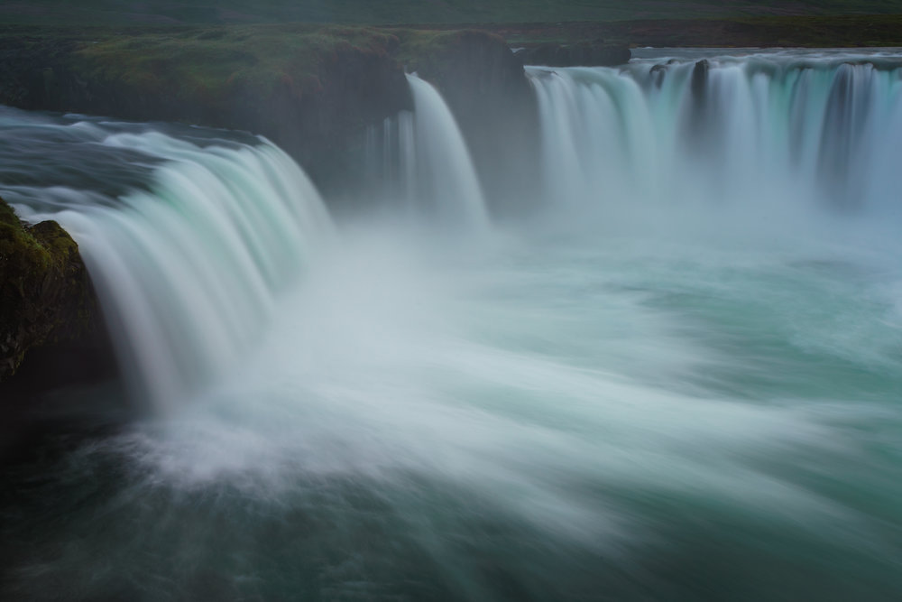 The Glacial flow of Godafoss