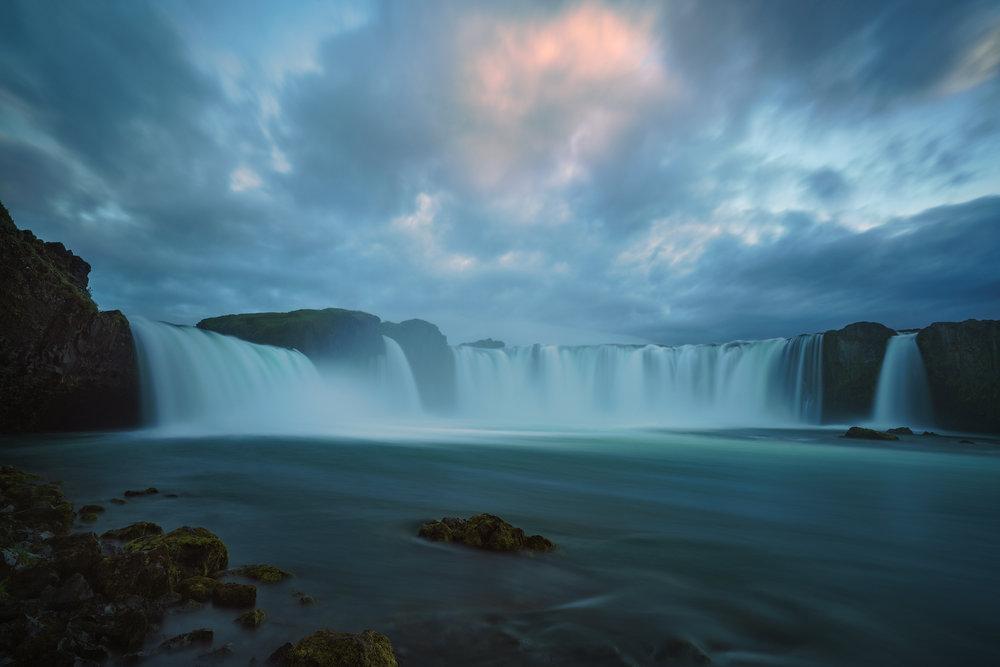 Last Light on Godafoss