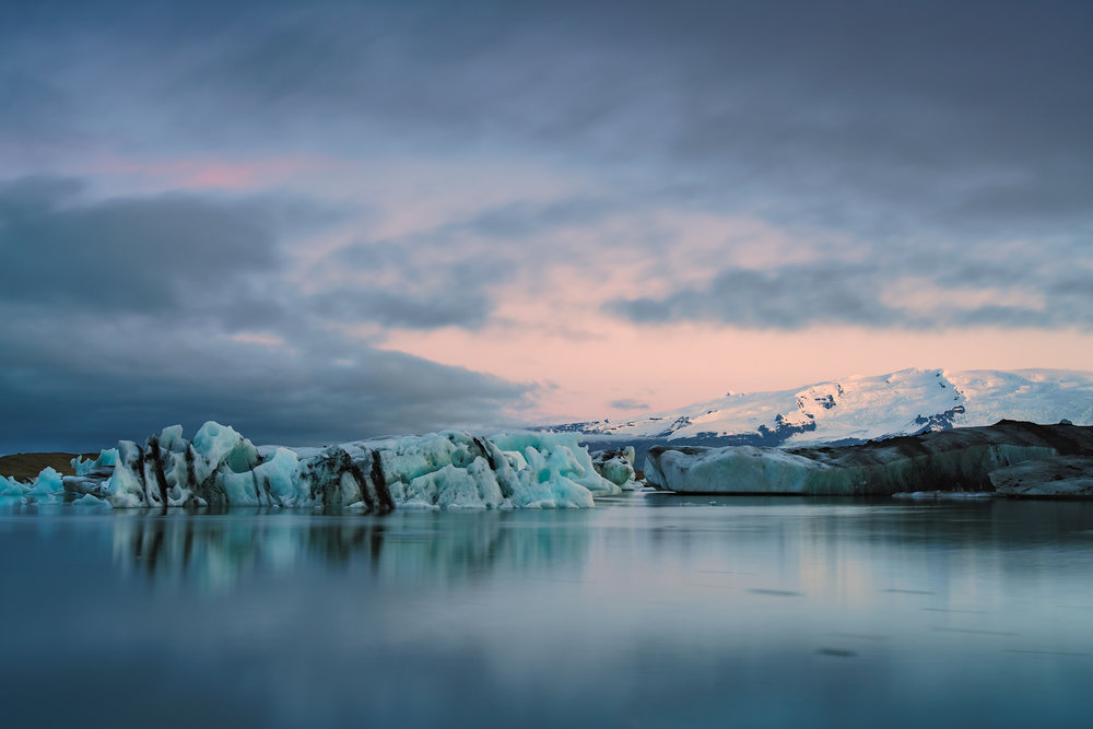 The Icy Blue at Jolkusarlon