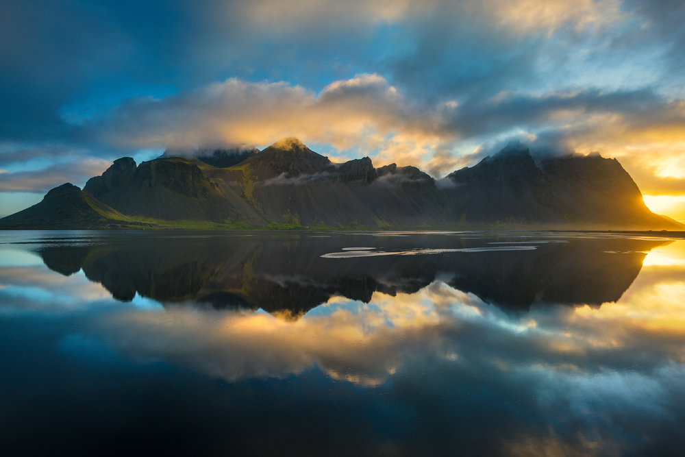 Reflections of Vestrahorn