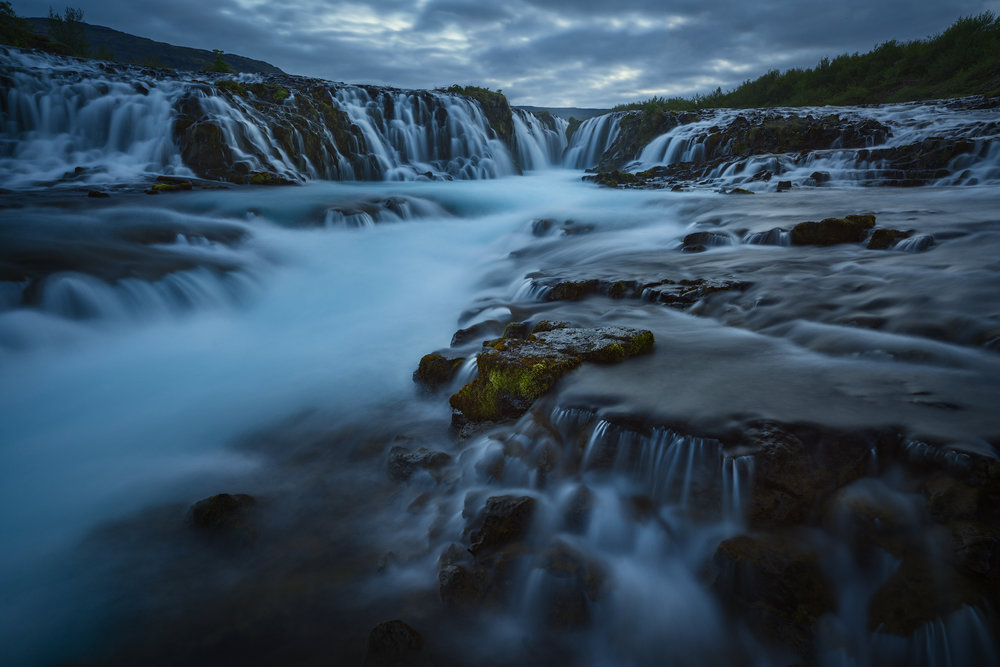 Last Light at Brurafoss