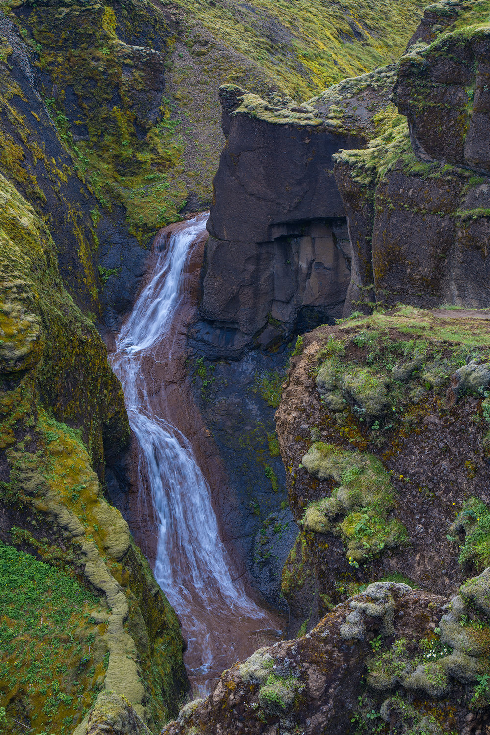 The Falls at Fjadrargljufur