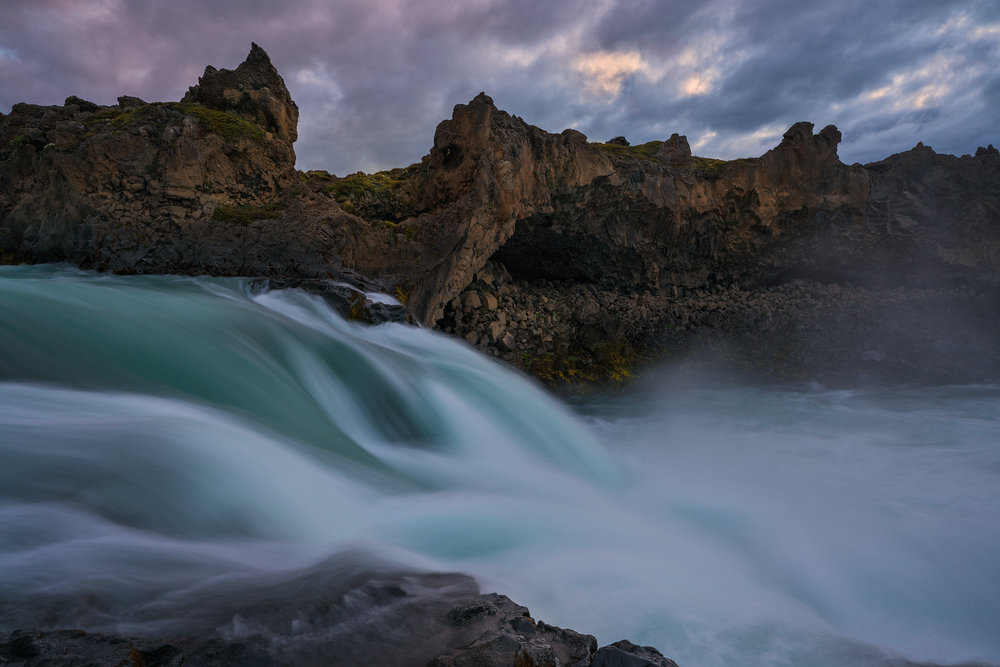 Lower Falls at Godafoss