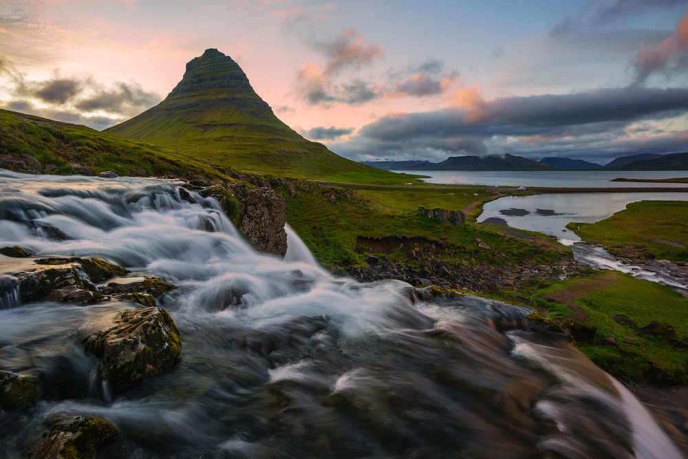 The Glow of Kirkjufell