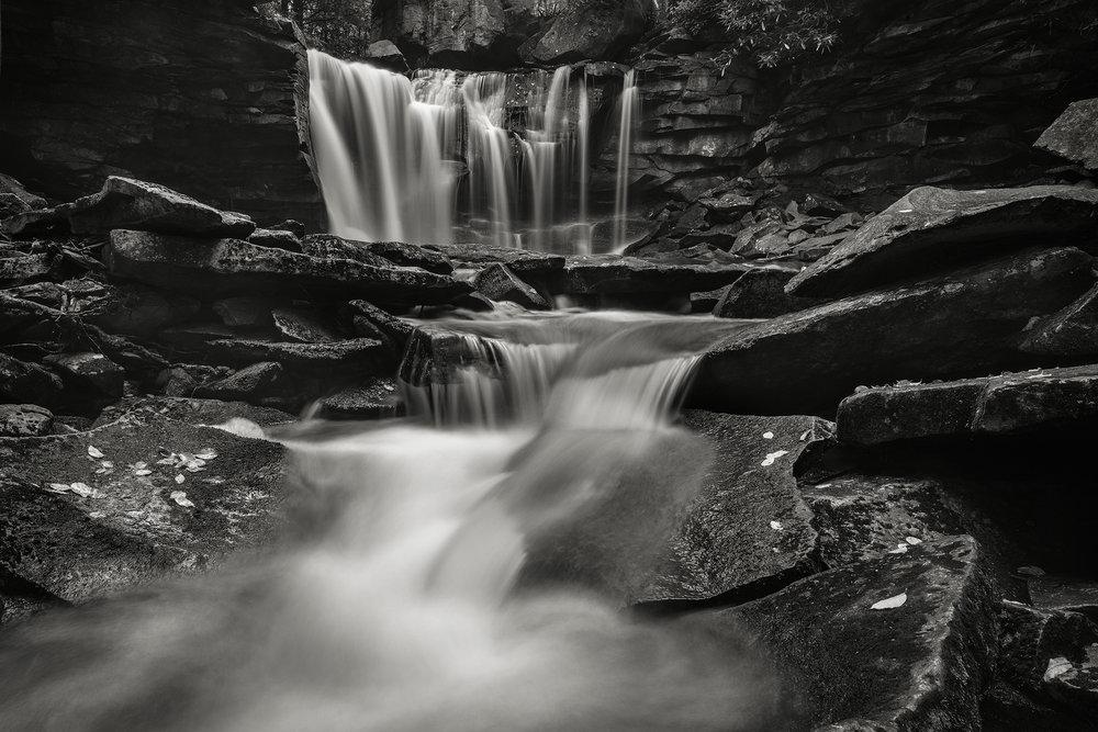 The beautiful Elakala No. 2, Shay's Run, Black Water Falls State Park, West Virginia.