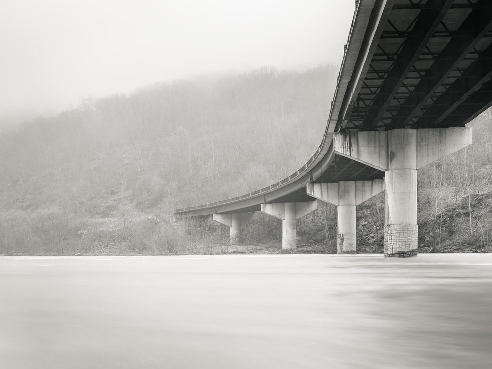 The Bridge No. 2, Harpers Ferry WV - Fuji GFX50s and a Fujinon GF32-64mm f4 R WR | ISO 100 at f11 for 120 seconds.