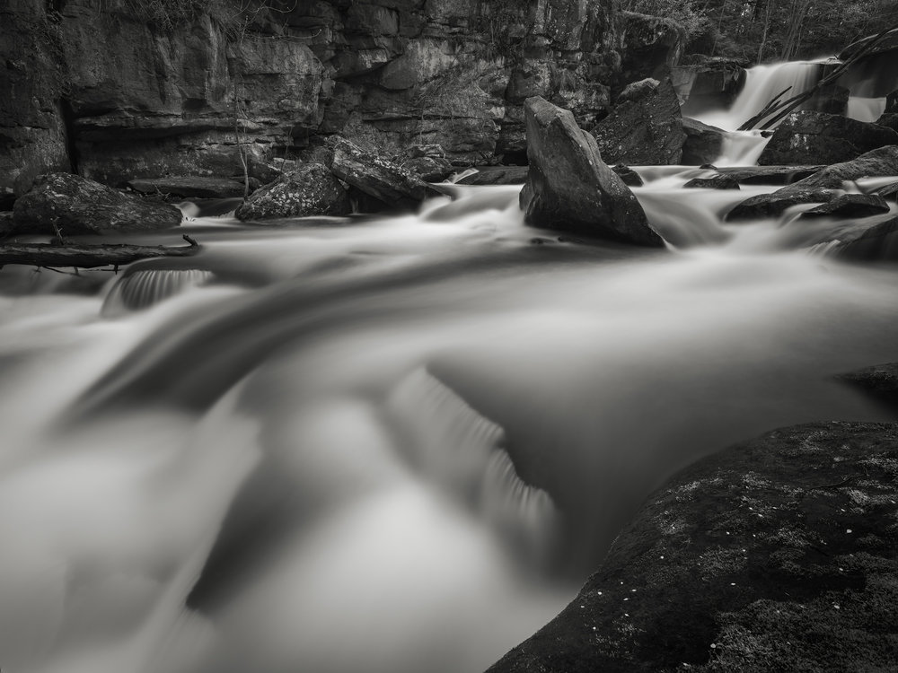 Muddy Creek, Slippery Rock, PA - Fuji GFX50s and a Fujinon GF23mm f4 R WR | ISO 100 at f11 for 60 seconds.