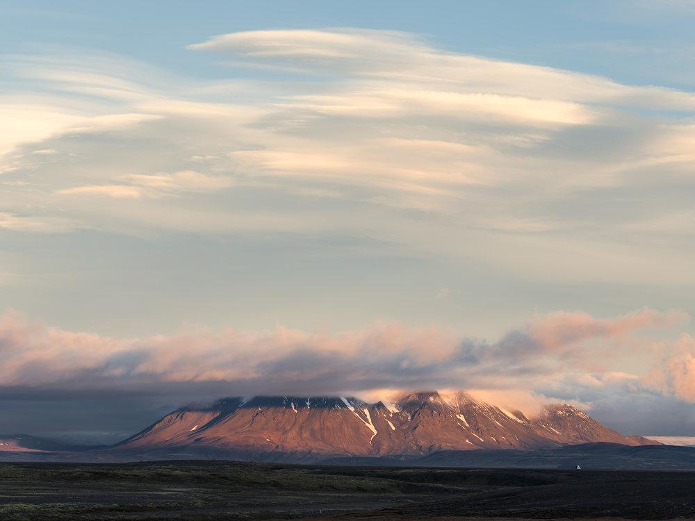 Hrútfellsjökull, Central Highlands