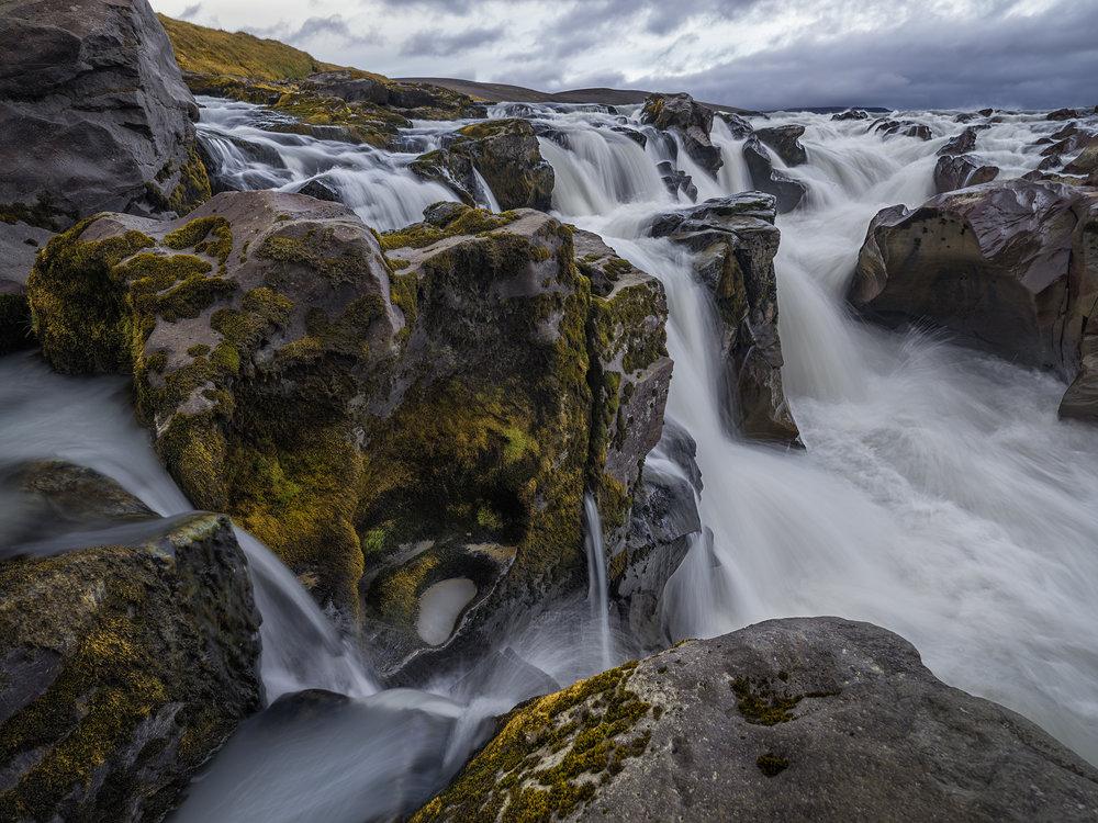 Waterfall on the Joküfall River.