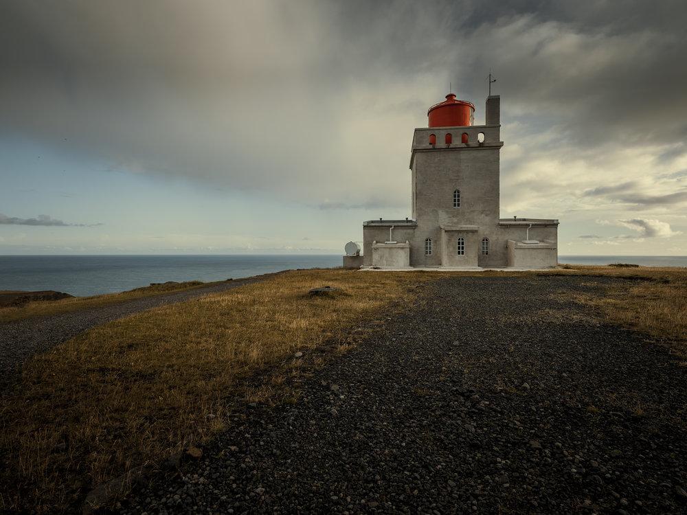 The lighthouse at Dyrhólaey