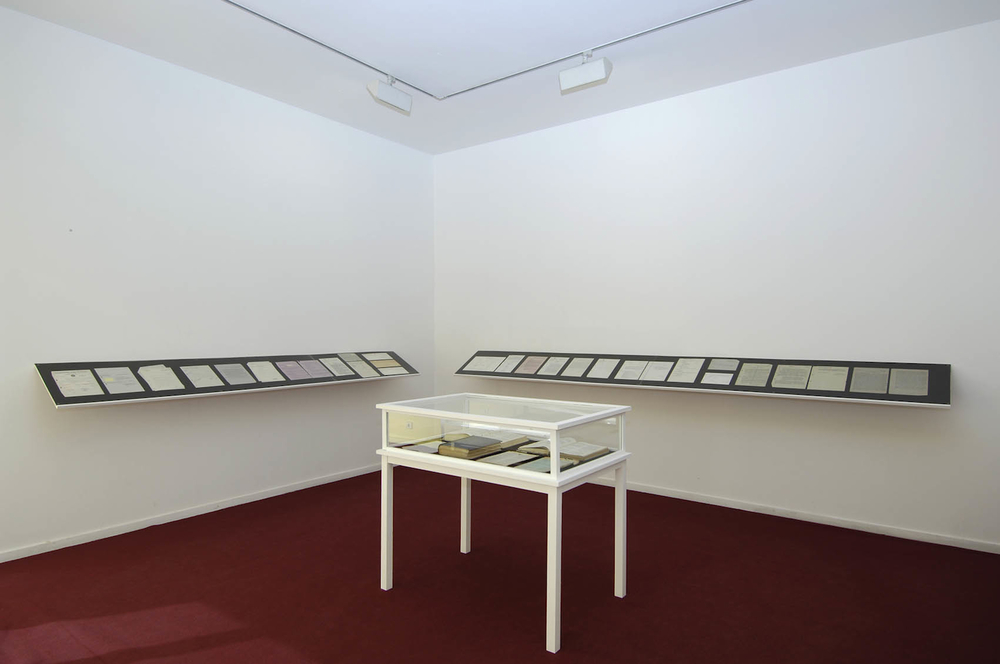 "Michael Blum, ""Lippmann, Rosenthal & Co"" (2006), installation view"