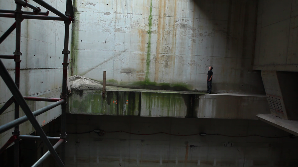"""Leap"", Egle Budvytyte, video still"