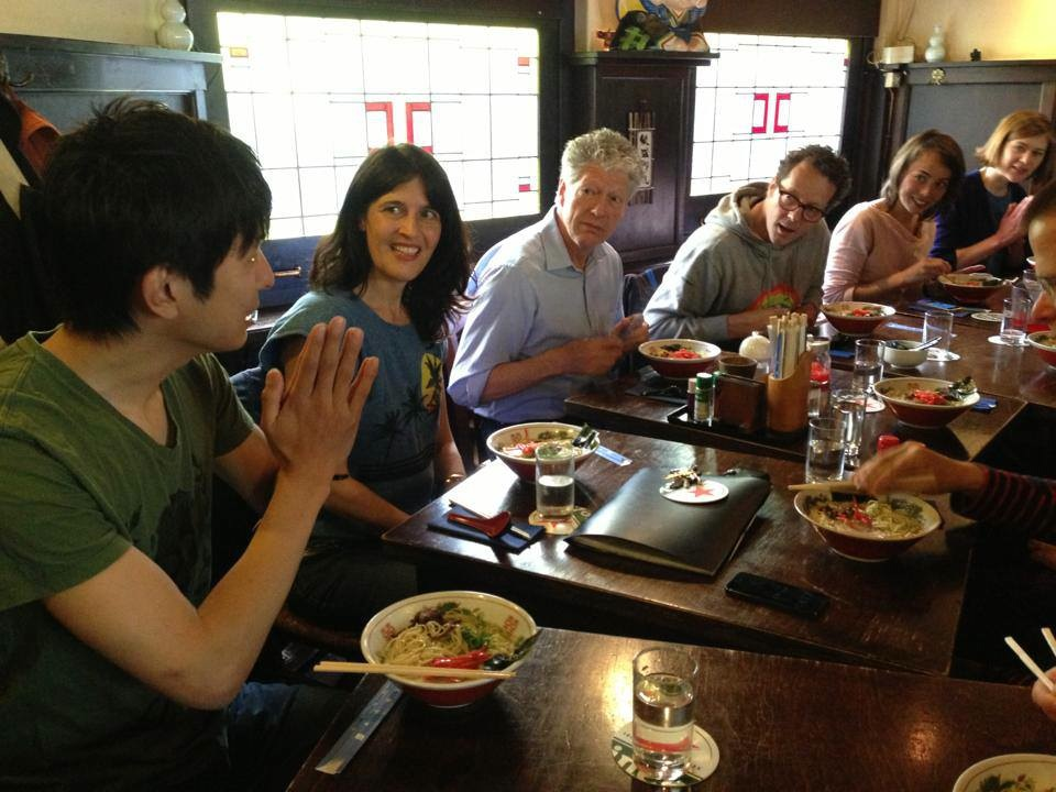 """Learning Language by Eating"", language session Marianna Maruyama, Japanese Restaurant Hakata Senpachi"