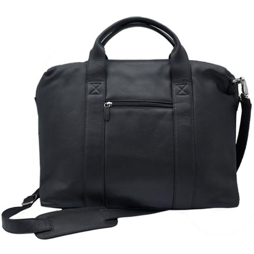 men's black leather office bag — MUSEUM OUTLETS