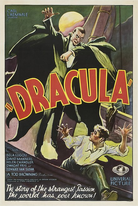 Dracula Framed Horror Movie Poster Wall Art Museum Outlets