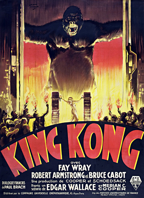 King Kong 1933 Framed Horror Movie Poster Wall Art — MUSEUM OUTLETS
