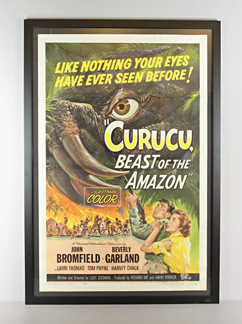 Curucu Beast of the Amazon Framed Horror Movie Poster Wall Art ...