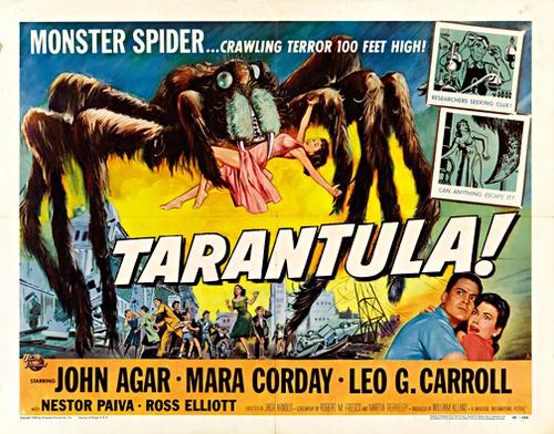 tarantula vintage horror movie poster framed wall art - Movie Posters Framed