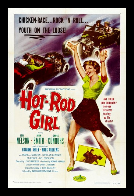 Hot Rod Girl Classic Movie Posters Wall Art Framed — MUSEUM OUTLETS